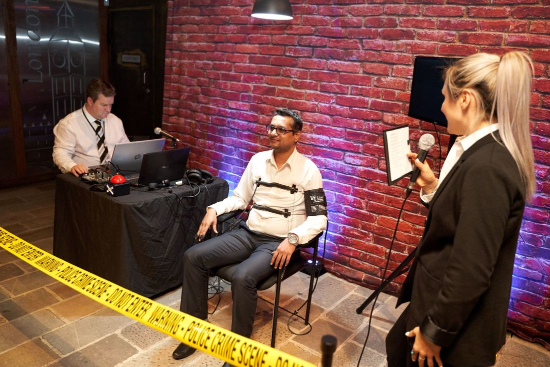 Lie Detector Events Interview